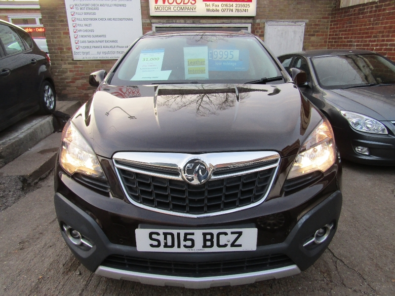View VAUXHALL MOKKA SE S-S  Only 31,000 miles