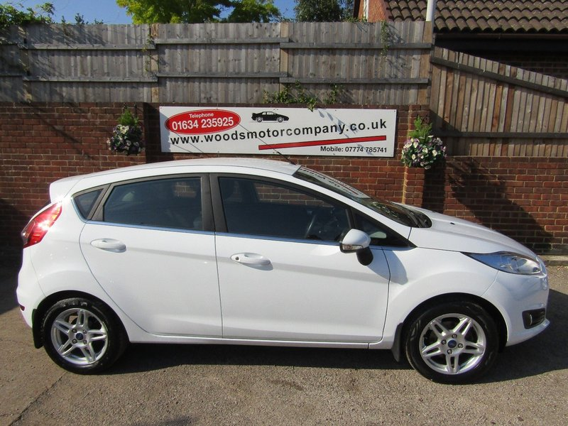 View FORD FIESTA ZETEC  Only 47,000 miles  2 Owners