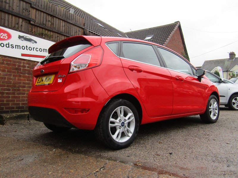 View FORD FIESTA ZETEC  Only 18,000 miles