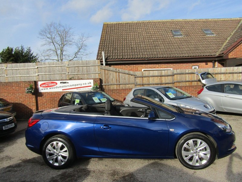 View VAUXHALL CASCADA 1.4T 140  SE  Only 23,000 miles