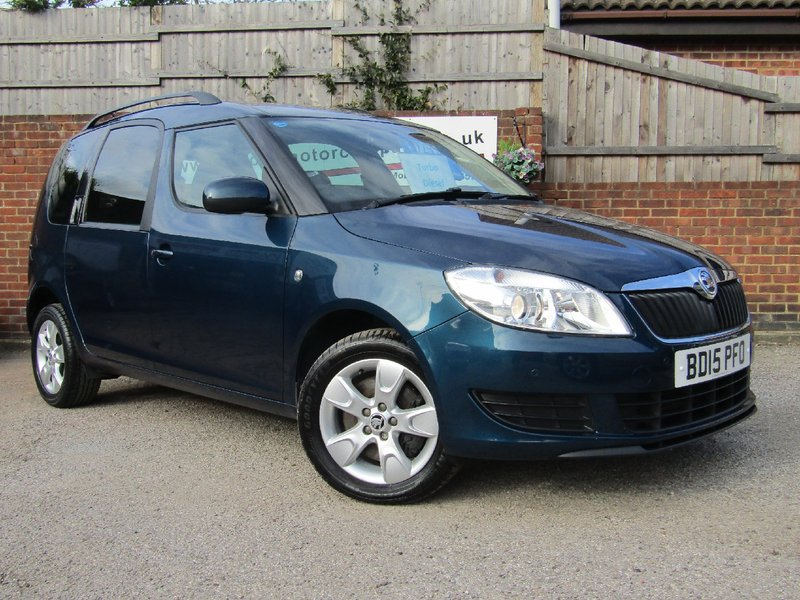 View SKODA ROOMSTER TDi CR 90 SE  Only 17,000 miles    Lovely Low Miles   Full Service History    3 Skoda Main Services