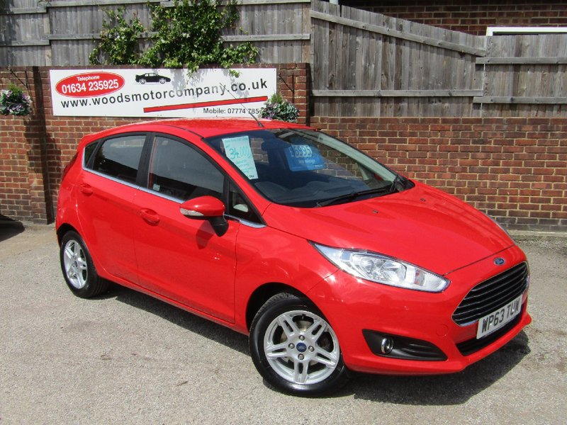 View FORD FIESTA 1.25i 82 Zetec  Only 34,000 miles, 2 Owners, Lady Since 2015