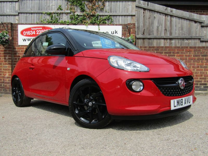 View VAUXHALL ADAM 70 VVT Ecotec-4 Energised  Only 8,000 miles From New,  Full Vauxhall Service History