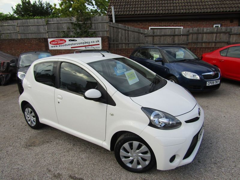 View TOYOTA AYGO VVT-i MMT Auto Ice  Only 38,000 miles, Full Service History