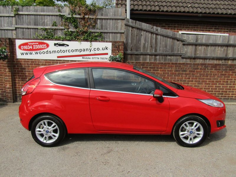 View FORD FIESTA 1.25i 82 Zetec  Only 49,000 MILES  2 Owners  Service History
