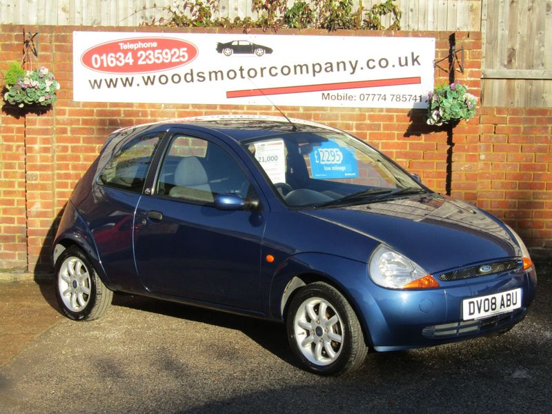 FORD KA ZETEC CLIMATE  Only 21,000 miles,  2 Owners,  Lovely Low Mileage